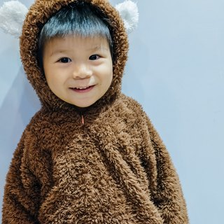Brown bears, children's clothing, baby, baby, rabbit, one-piece, bear, hand-made