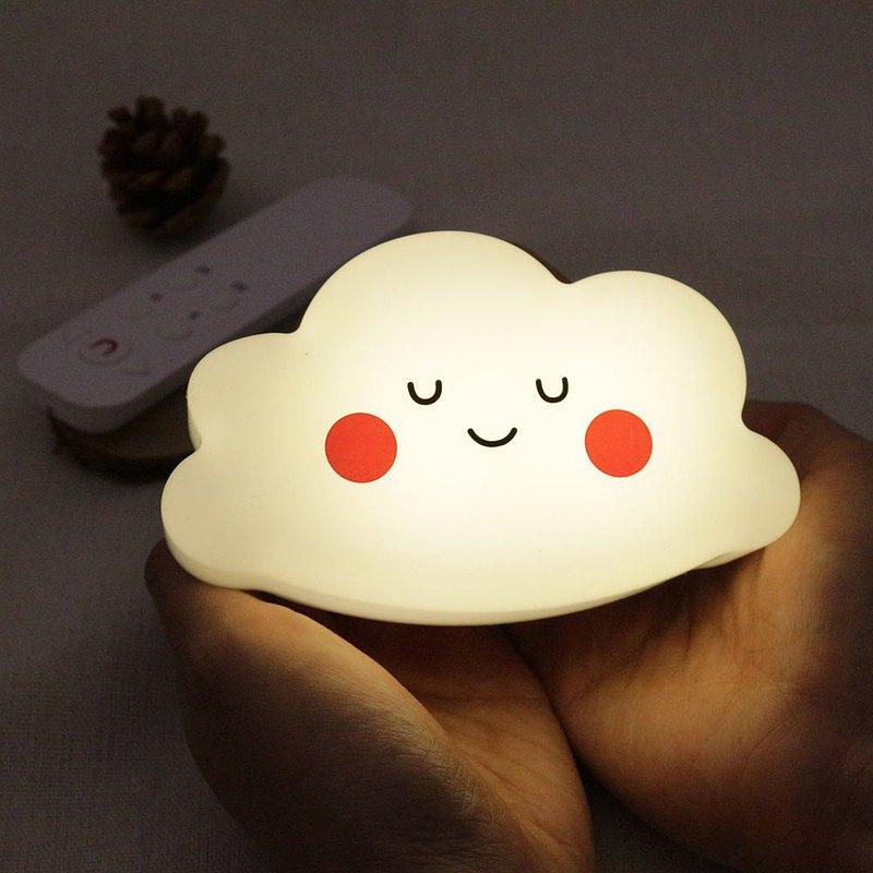 晚安雲朵夜燈 壁掛式雲燈 遙控燈 聖誕節禮物 交換禮物推薦