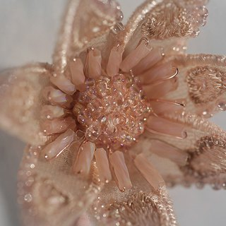 Carotenia/Romantic Pink Brooch