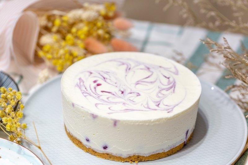 藍莓生乳酪/低碳無糖/生酮甜點