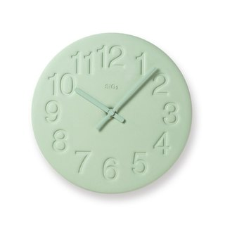 LC11-08 GN diatomaceous earth clock - green