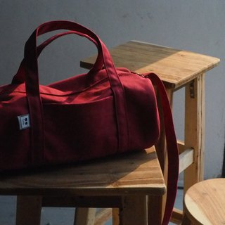 DUFFLE SIZE M - MAROON