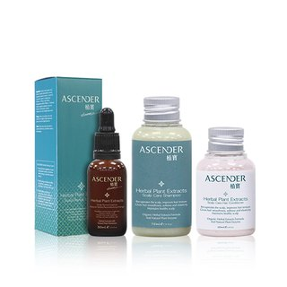 The scalp does not lose its age │ Shampoo _75ml, Conditioner _50ml, Reversal Essence _30ml