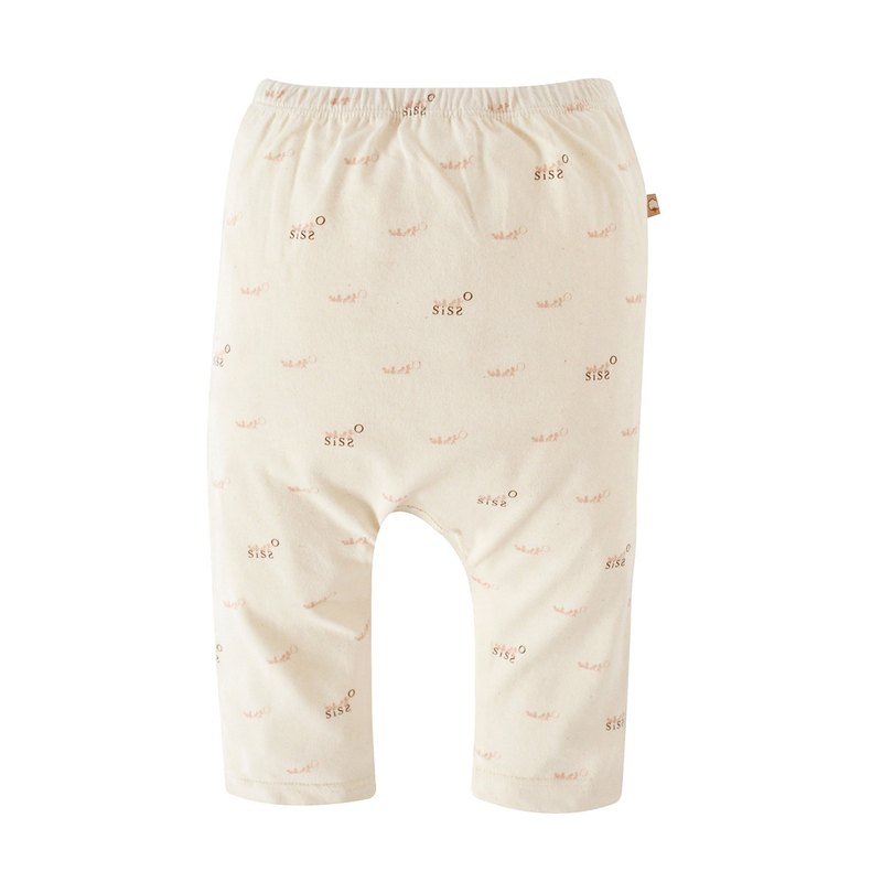 【SISSO organic cotton】 SISSO SISSO soft cotton baby pants 3M 6M