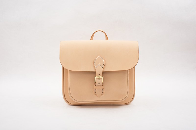 [Cut line] ★ paratroopers backpack ★ handmade leather ladies backpack retro bag bag bag large