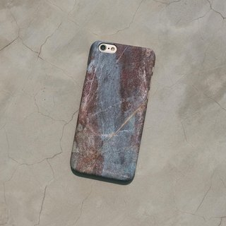 Original frosted rock Phone case (iPhone model) with  igneous rock pattern and hard shell back case