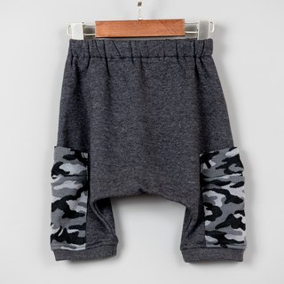 Cement black brush hair squirrel pants autumn and winter hand-made non-toxic flying rat pants children's clothing