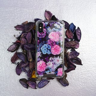 [Flowers blooming at night] anti-gravity anti-fall mobile phone case