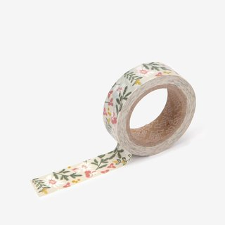 Dailylike single roll of paper tape-90 flowers set, E2D01684