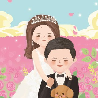 Customized Portrait | Wedding | Birthday | Gift