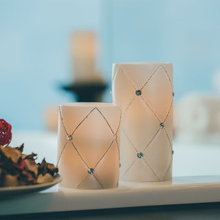 Ice Crystal LED Candles