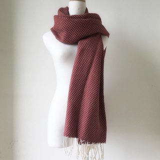 Turkish handmade organic cotton towel Murat Breeze (brick red)