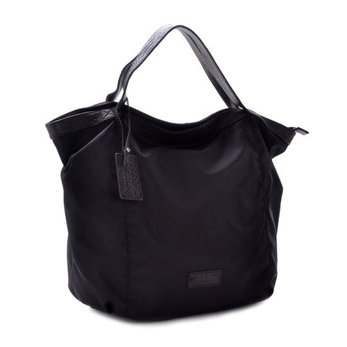 New color debut La Poche Secrete: travel girls stay away large light package - Lightweight nylon laptop shoulder _ black _ 1945