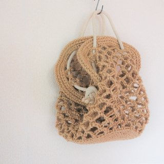Net bag for interior,jute string