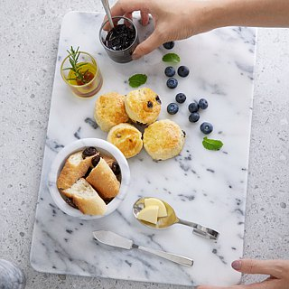 Marble board / 揉 panel / chopping board / chocolate tempering plate