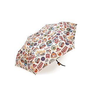 Filter017 Folding Umbrella Fun Sticker Image Folding Umbrella
