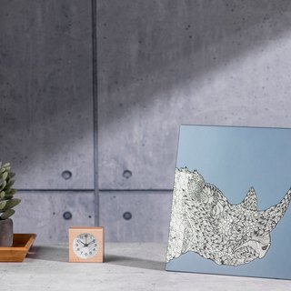 Rhinoceros - Aluminum Decorative Panel - Teshi Edition Decor Board AL6061