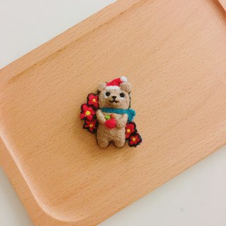 Christmas Mr. Lin Xiong Xiong - wool felt pins