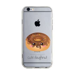 Custom cute donut transparent Samsung S5 S6 S7 note4 note5 iPhone 5 5s 6 6s 6 plus 7 7 plus ASUS HTC m9 Sony LG g4 g5 v10 phone shell mobile phone sets phone shell phonecase