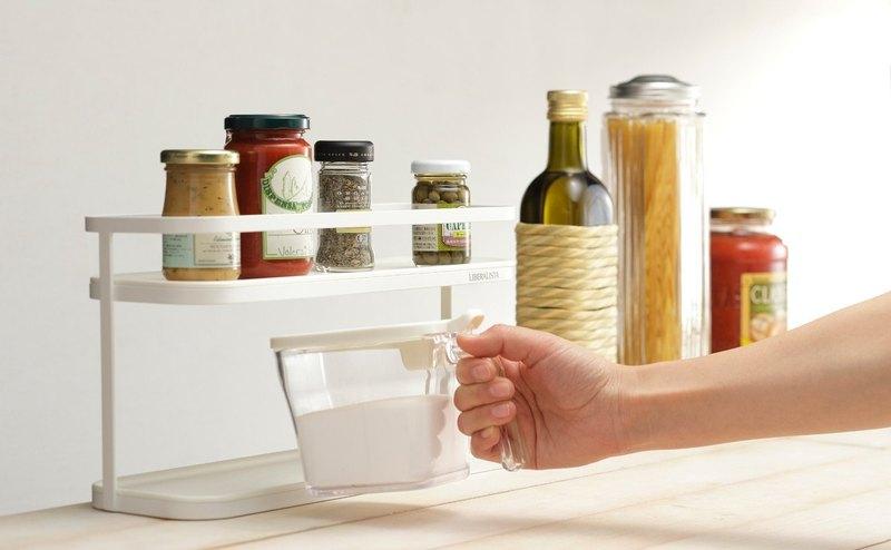 LIBERALISTA 雙層瓶罐收納架 (大) 廚房調味罐收納