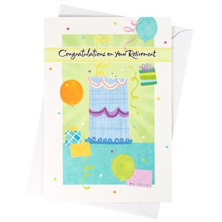 Dedicated to your retirement wishes (Hallmark - Cards retired)