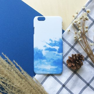 Blue clouds. Matte Case( iPhone, HTC, Samsung, Sony, LG, OPPO)