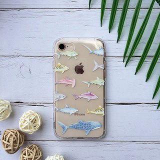 Shark essay phone case