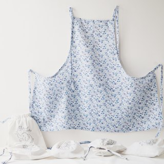Linen Apron Spring Collection Spring Floral Gift for her
