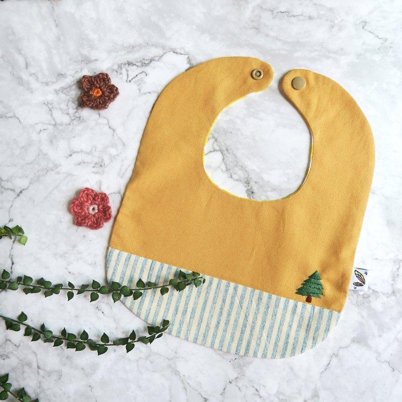小樹 嬰兒圍兜 口水巾 彌月禮盒