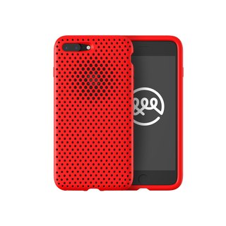 AndMesh iPhone 7 / 8 Plus Japan QQ Network Soft Collision Protection Cover - Red