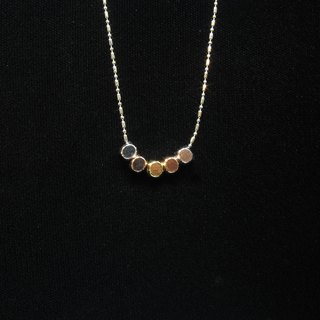 And the City jewelry series - like non-circular square necklace (multicolor models) European style
