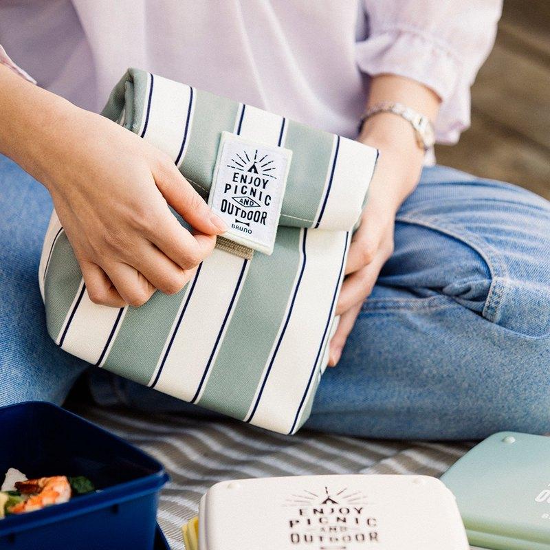 日本BRUNO 野趣保溫保冷午餐包(綠色)