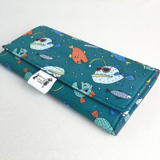 Outing portable diaper pad - mouth fish
