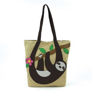 Sleepyville Critters - Take it Easy Sloth Tote Bag
