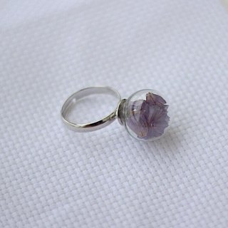 Glass Dome Pendant Ring