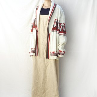 BajuTua / Vintage / 70's Southwestern Lapel Sweater (All Men and Women)