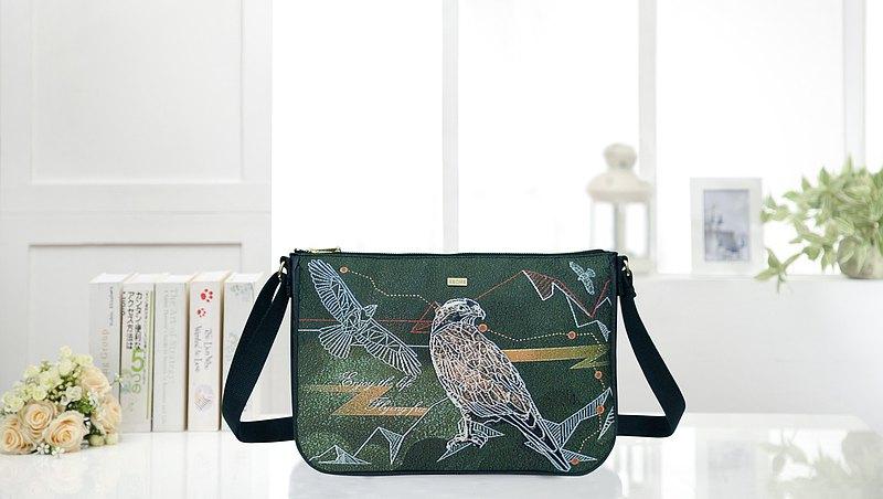 旅行隨身包 防潑水 平織緹花 森之鷹