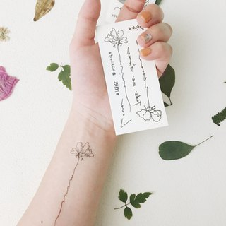 Nature Tattoo Sticker
