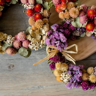 {Fleurir blossoming time} ZAKKA small berry wreath / dried bouquet / hand-made dried flower ceremony / Wedding Accessories / exchanging gifts / Christmas / Christmas gift