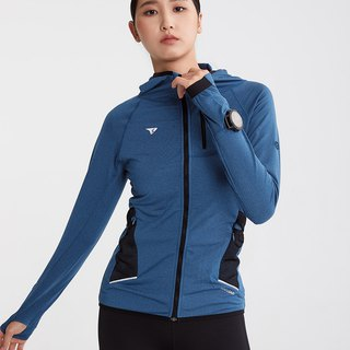 【SUPERACE】 WOMEN'S  RUNNING SWEAT JKT 2.0 / BLUE