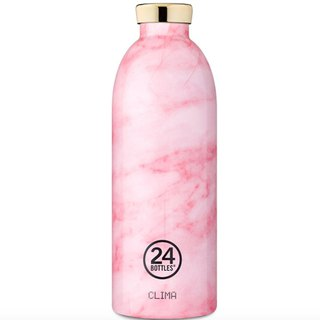 New 24Bottles - Clima Marble Pink (850ml) - Warm 12hr cold 24hr