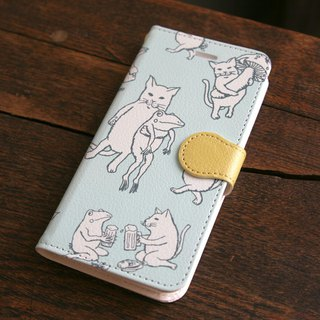 iPhone cover · notebook type Nakama weed ice mint