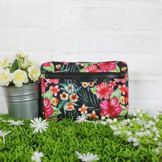 [RITE] Le Tour Series - Mini Side Backpack - Tropical Flowers