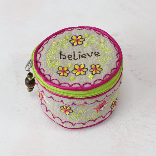 Embroidery Jewelry Box │BAG004