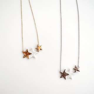 LIMITED Special star 3stars necklace