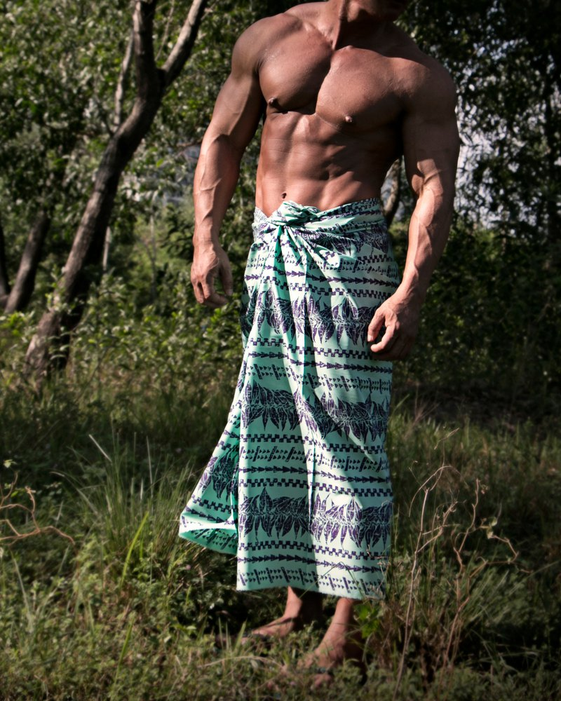 Tropical Sarong in Paradise Printing