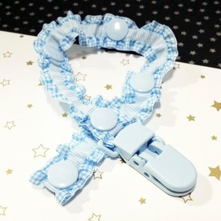 Cheerful. Baby pacifier chain / pacifier folder / can be changed to 'Vanilla pacifier' use