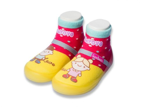feebees toddler shoes / socks shoes / children's shoes Neverland good little series made in Taiwan