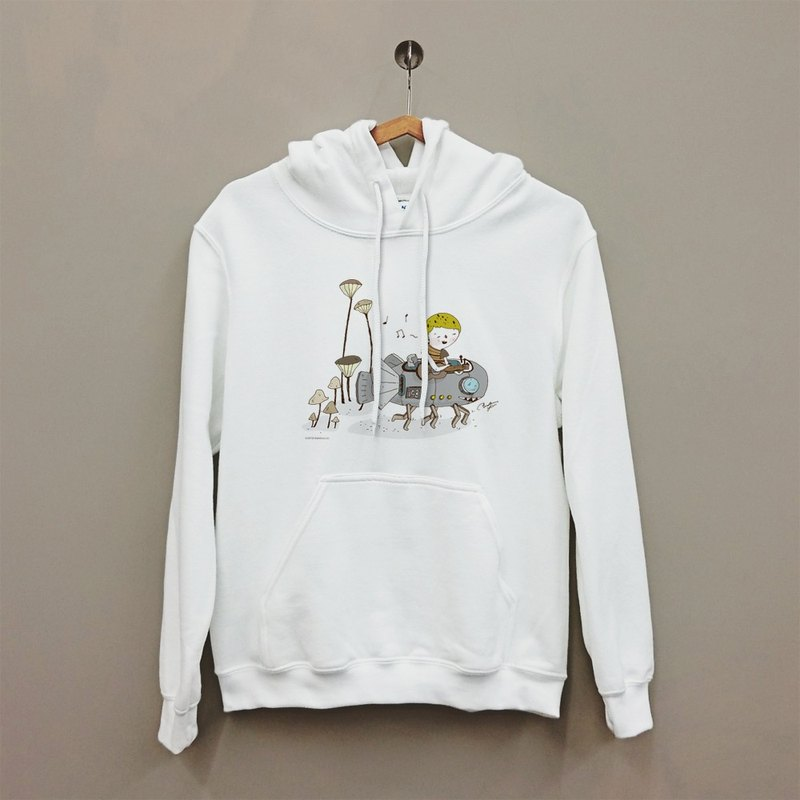 Details of life in the United States GILDAN Happy soft texture hooded cotton T-shirt