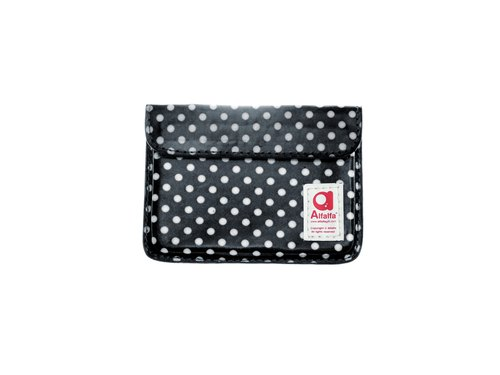 Mizutama pocket Card holder - Black